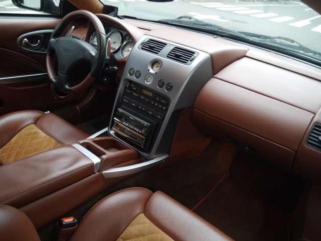 アストンマーティンV12ヴァンキッシュ5.9ディラー車記録簿HDDナビアルカンターラ左東京都の詳細画像その15