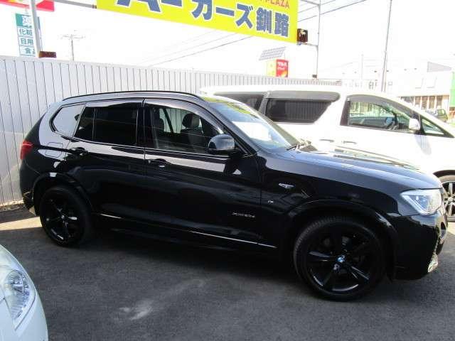 BMWX3ブラックアウト ディーゼルターボ 4WD107台限定車LEDヘッドライト19AW最終モデル北海道の詳細画像その3