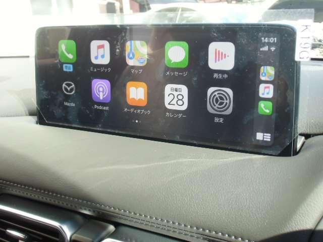 ★新型10.25インチマツダコネクトシステム+SDナビアドバンス&地デジチューナー、Bluetooth、Apple CarPlay+Android Auto対応USB端子×2★