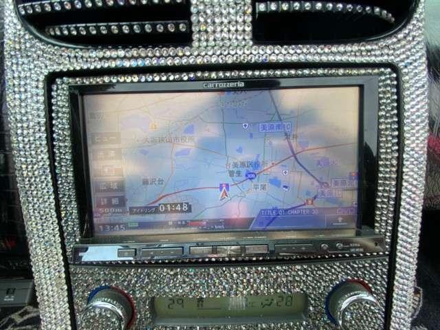 HDDナビ/DVD再生/Bluetooth接続可/フルセグ(TV見れます)お買い得車です!