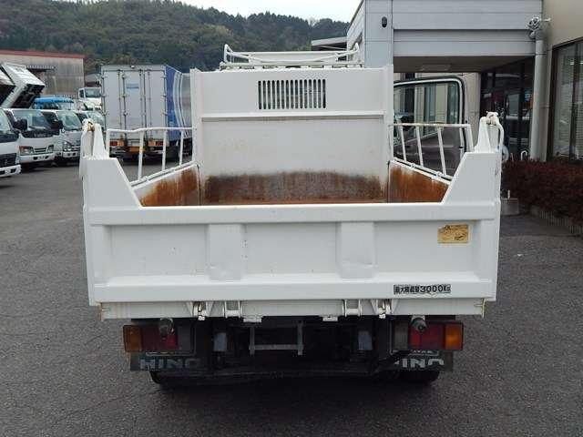 日野自動車 デュトロ 全低床 3トンダンプ 中古車在庫画像14