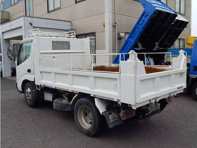 日野自動車 デュトロ 全低床 3トンダンプ 中古車在庫画像15