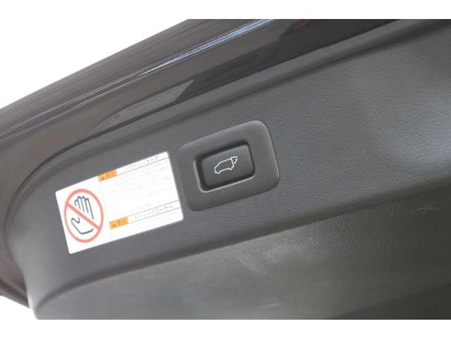 ボタン一つで開閉可能なハンズフリーパワーバックドア!