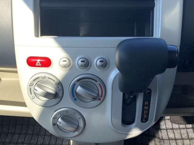 エアコン 運転しやすいオートマ車