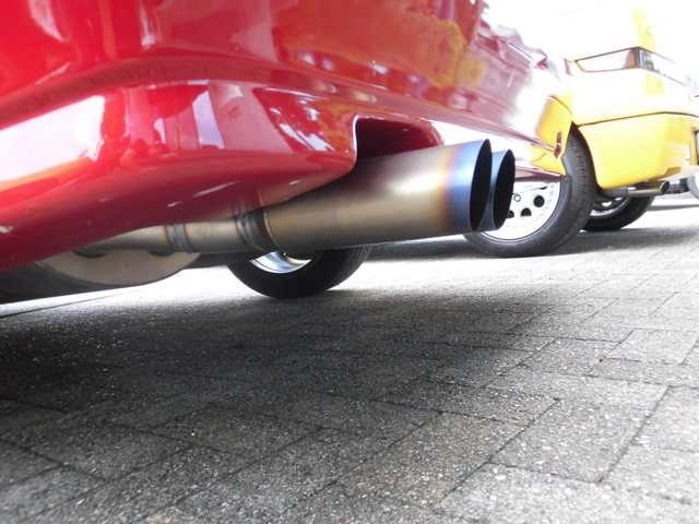 アルファ ロメオアルファ155V6ブレンボ チタンマフラー 3000cc岐阜県の詳細画像その15