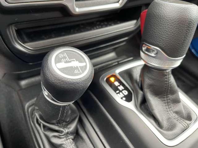 Selec-Trac 4WD System こちらもオプションとなります