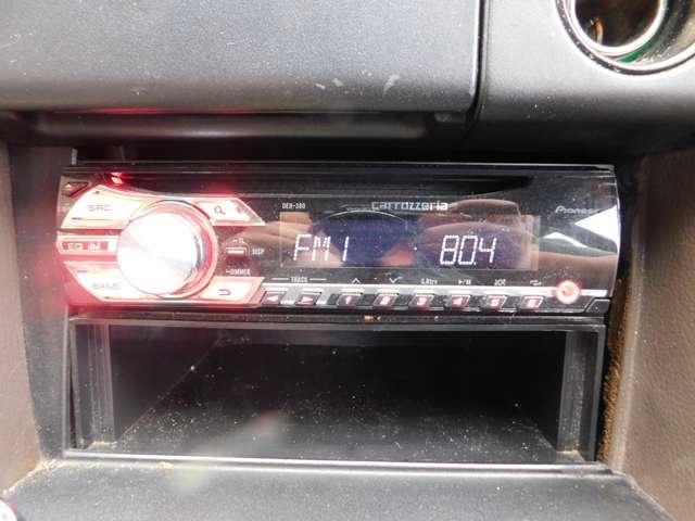 ★カロッツェリアのオーディオ装備!CD・ラジオ聞けます!