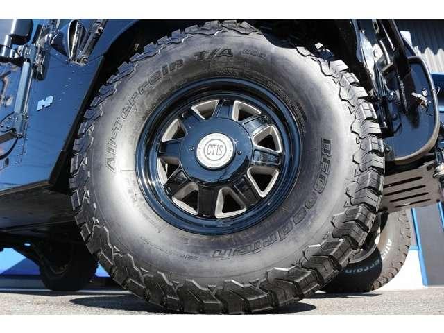 CTIS17インチAW!!37×12.50R17LT タイヤはBF グッドリッチになります!