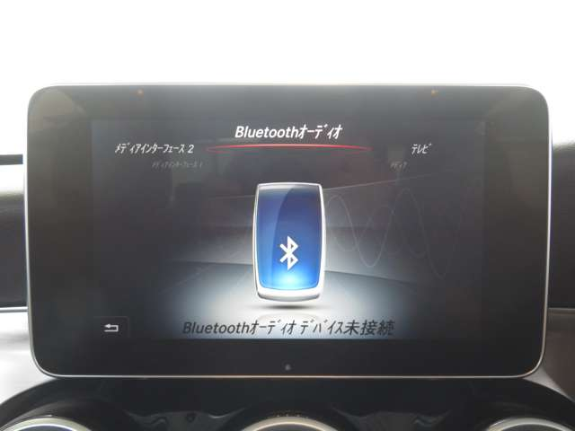 CD,DVD再生やフルセグ視聴、Bluetooth接続が可能です!