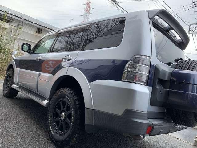 三菱パジェロ3.0 ロング エクシード 4WD新品グッドリッチ 新品18インチAW神奈川県の詳細画像その9