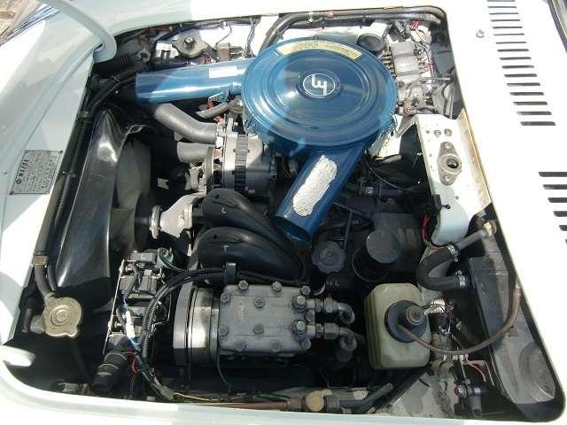 世界初の量産ロータリーエンジン!10A型エンジンです!